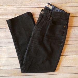 Levi's 525 Straight Leg Perfect Waist Black Jeans